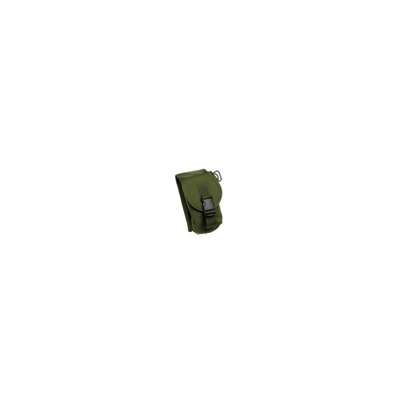 Radio pouch for modular vest, green