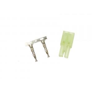 Plug, large, female part ,male plug contact