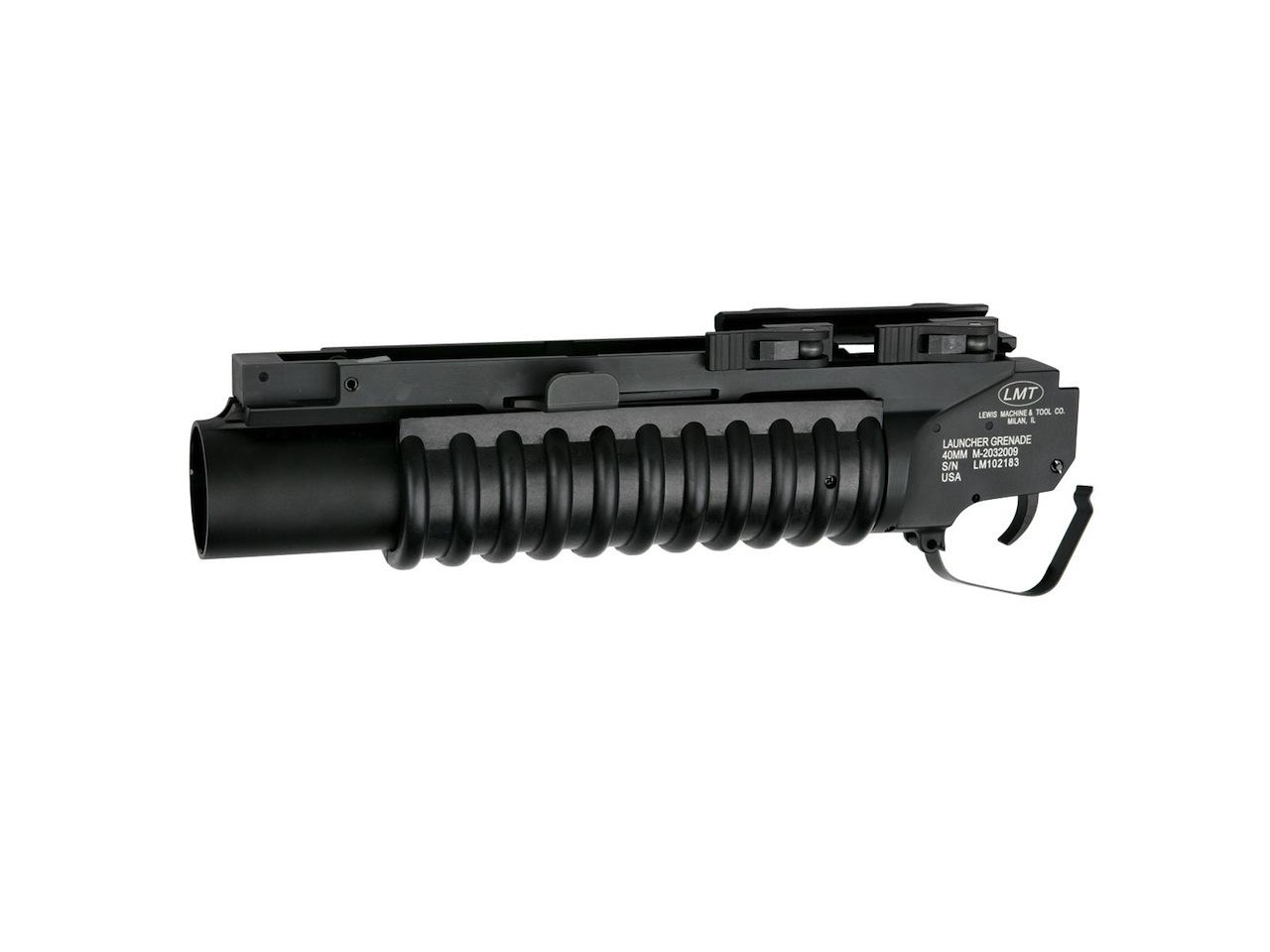 Lance-grenade M203 court, quick-lock, LMT
